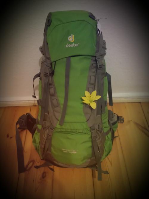 Leichtes Gepäck - nur 11 kg