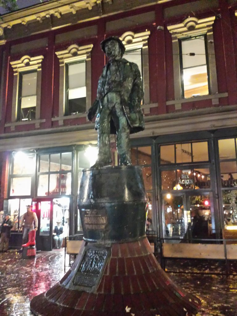 Statue von Gassy Jack in Gastown