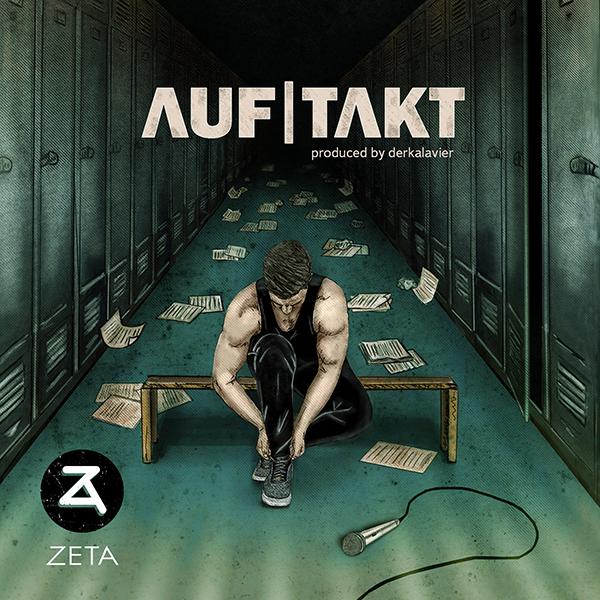 Musikcover (Illustration) für den Musiker Zeta