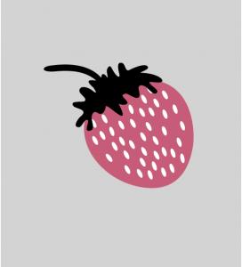 Illustration Erdbeere
