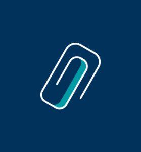 Klammer Symbol für Anhang