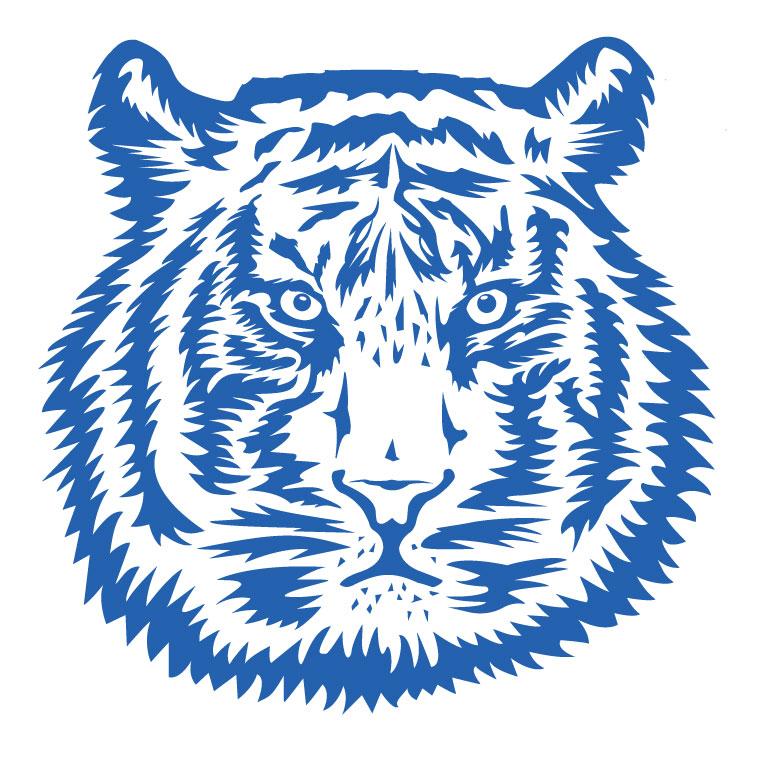 Illustration eines Tigers
